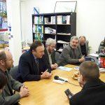 Csáky Pál látogatása a Fórum Intézetben
