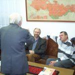Turczel Lajos latogatása a Fórum Intézetben