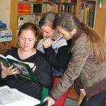 A budapesti ELTE Bölcsészettudományi Karának hallgatói az Etnológiai Központban