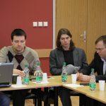 Az SZMK kampánybizottságának megbeszélése
